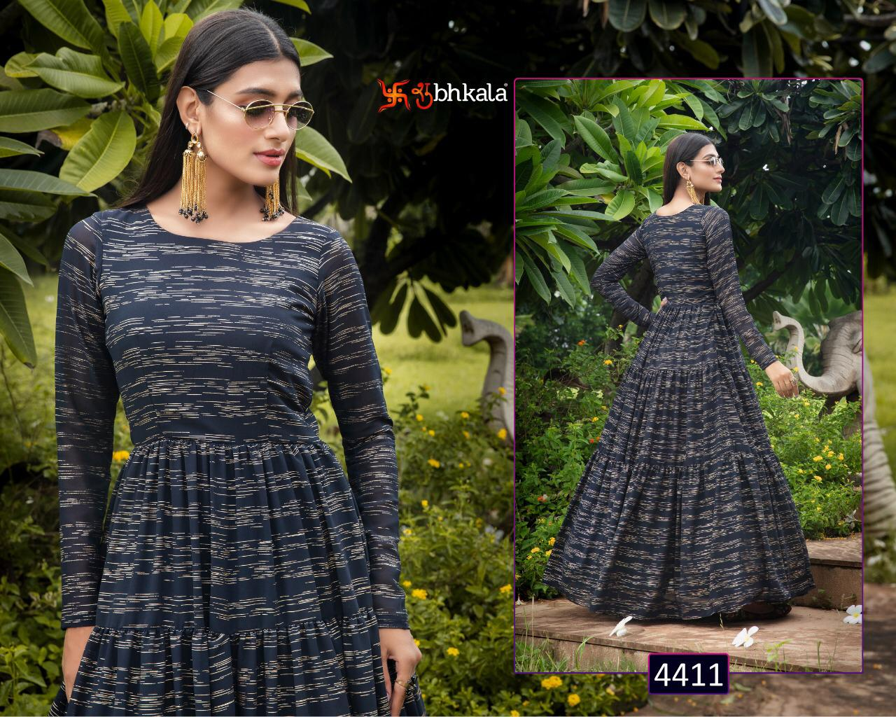 Khushboo Flory Vol 10 Georgette Anarkali Style Exclusive Designer Party Wear Long Gown
