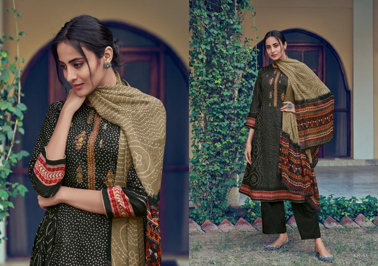 Varsha Fashion Kora Series 41-48 Pure Cotton Satin Print Salwar Suits