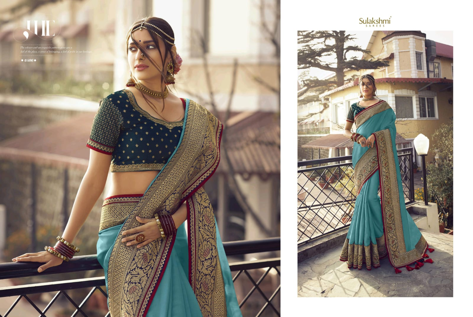 Sulakshmi Sunshine Series 6401-6409 Wedding Wear Traditional Look Saree