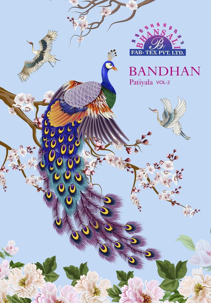 Bhansali Bandhan Patiyala Vol 2 Pure Cotton Suit