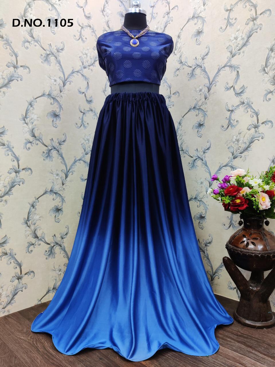Varni Fashion Zaira Choli Skirts Vol-2 Designer Lycra Shaded Lehenga