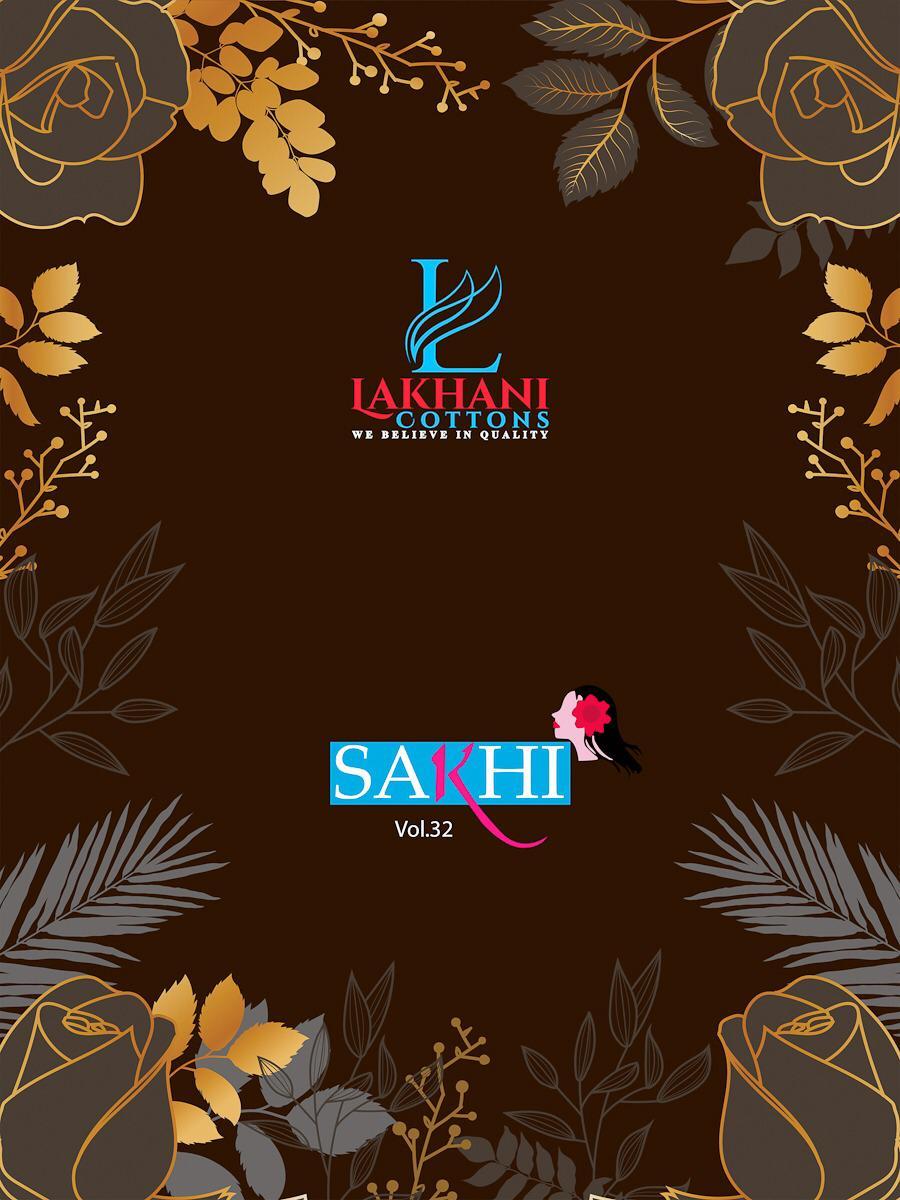 Lakhani Sakhi Vol 32 Pure Cotton Suit