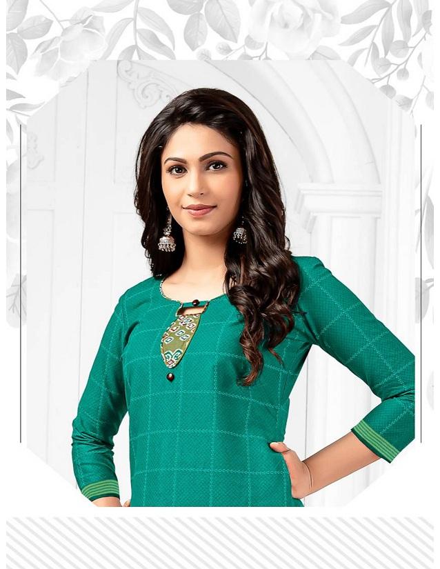 Lakhani Pranjana Patiyala Vol 4 Pure Cotton Readymade Suit