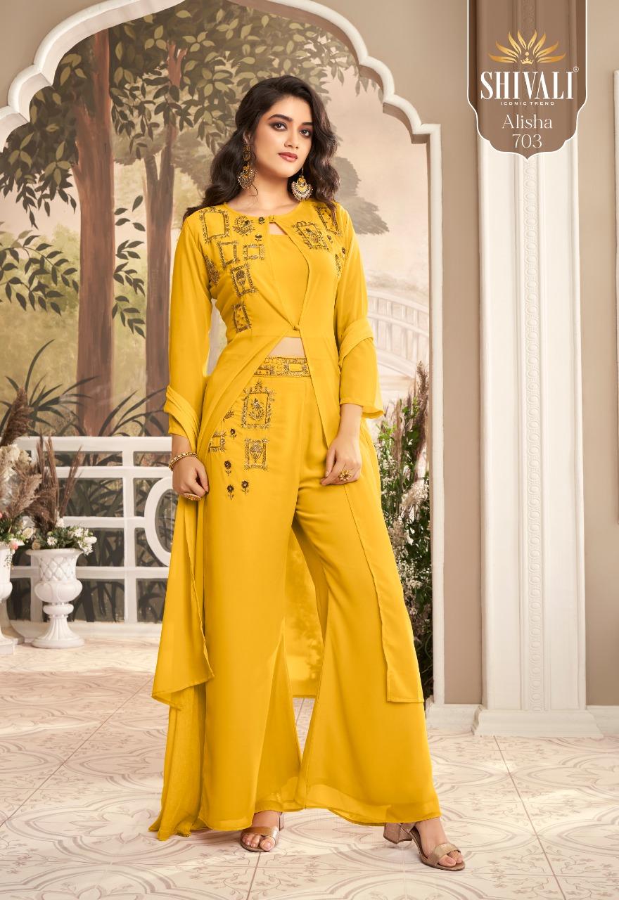 Alisha Vol 7 By Shivali Fashionable Festive Wear Western Collections Kurti