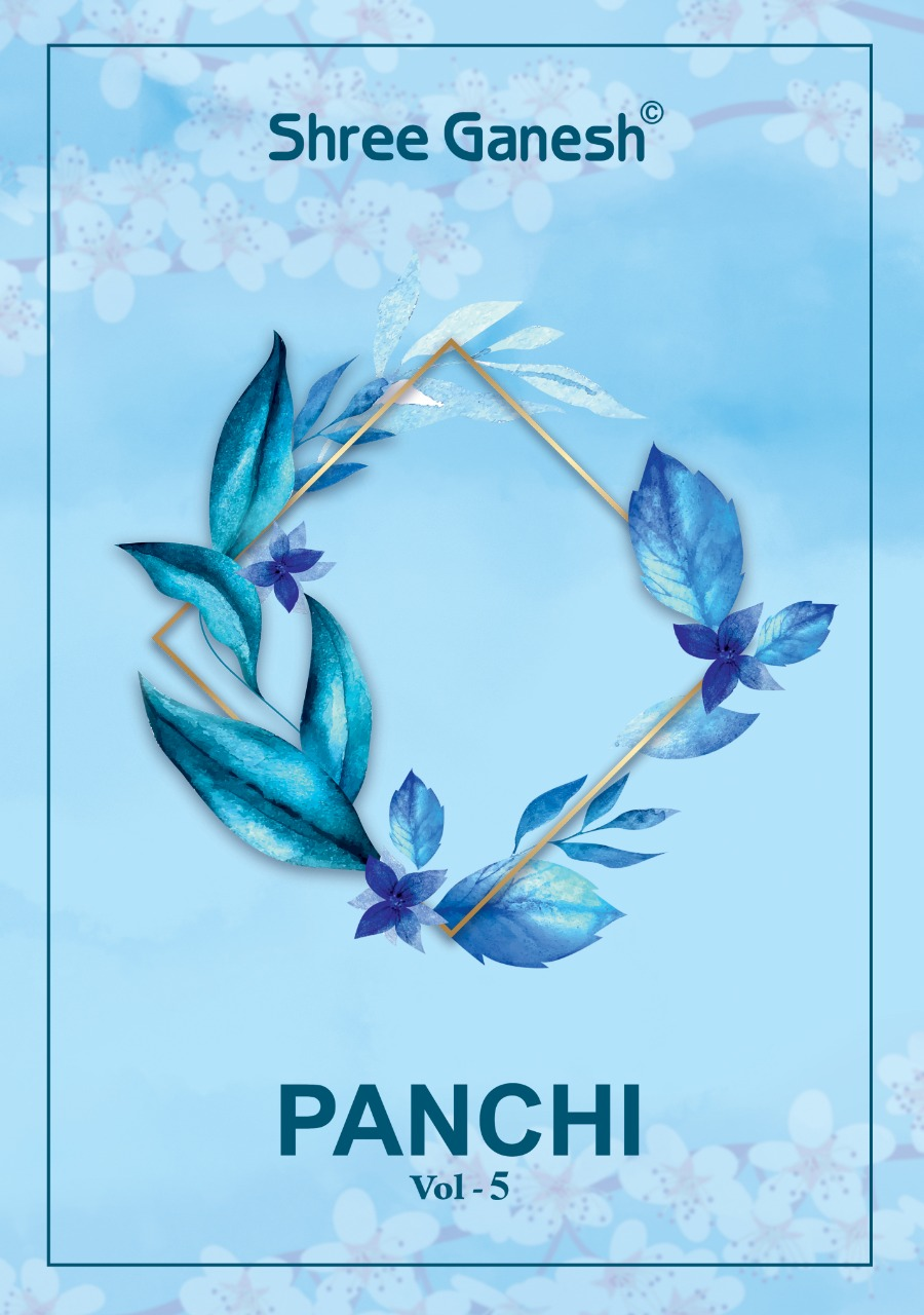 Shree Ganesh Panchi Vol 5 Cotton Print Readymade Suit