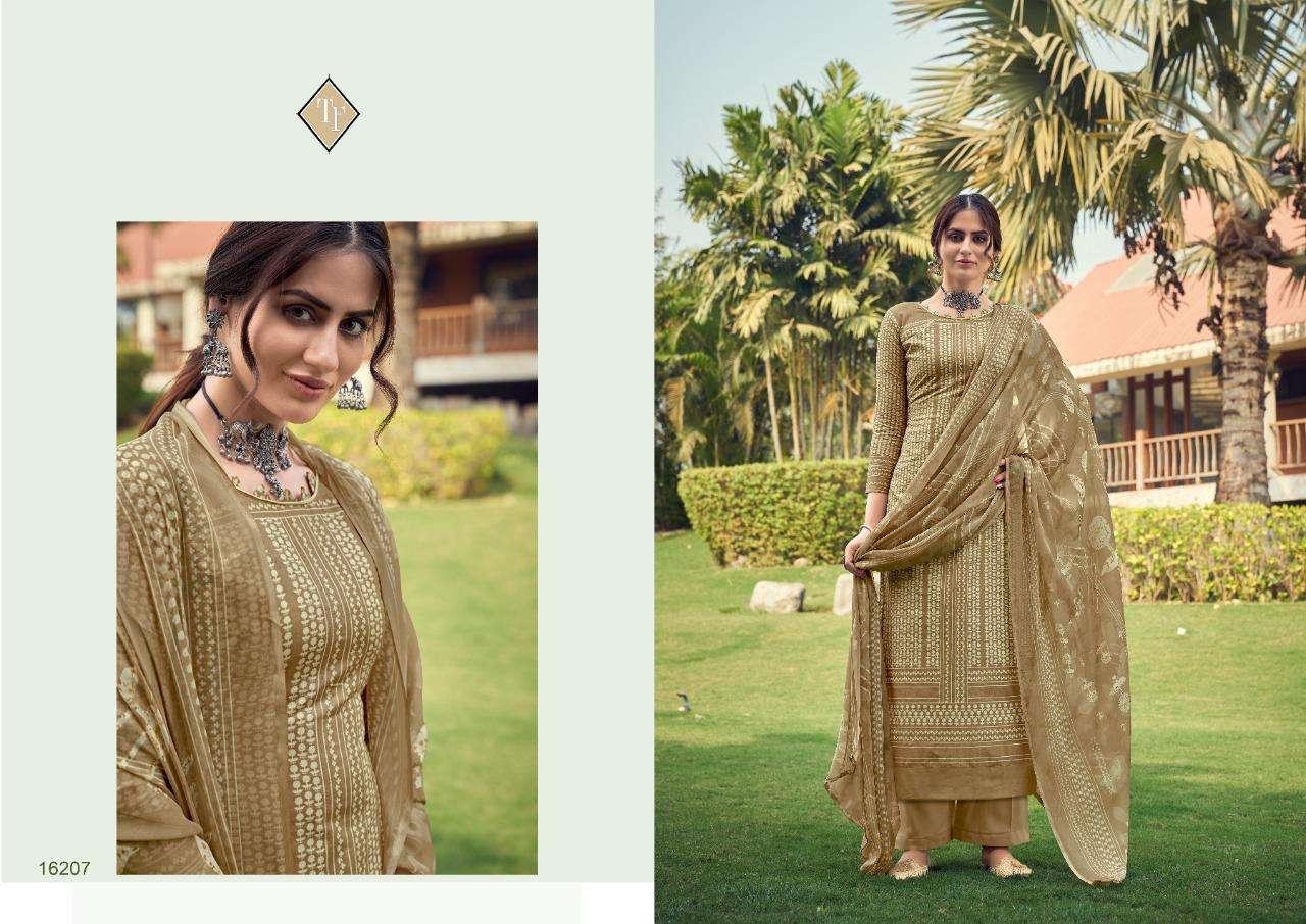 Tanishk Fashion Manjhi Lawn Printed Ladies Suits Wholesaler In Surat Textile