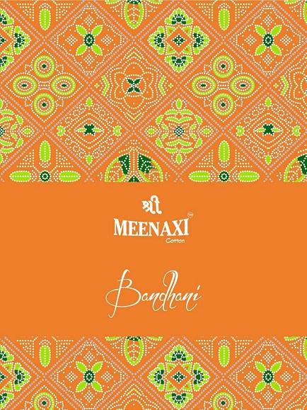 Meenaxi Bandhani Cotton Sarees