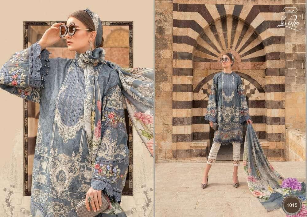 Levisha Maria B Lawn Vol-2 Series 1013-1016 Lawn Cotton Pakistani Suits
