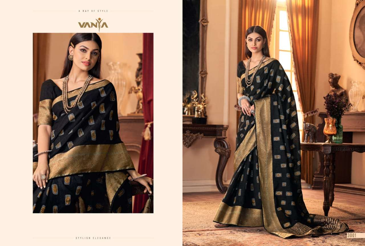 Vanya Vol 20 3001-3016 Series Ethnic Wear Indian Fancy Sari Wholesale Clothing Shop