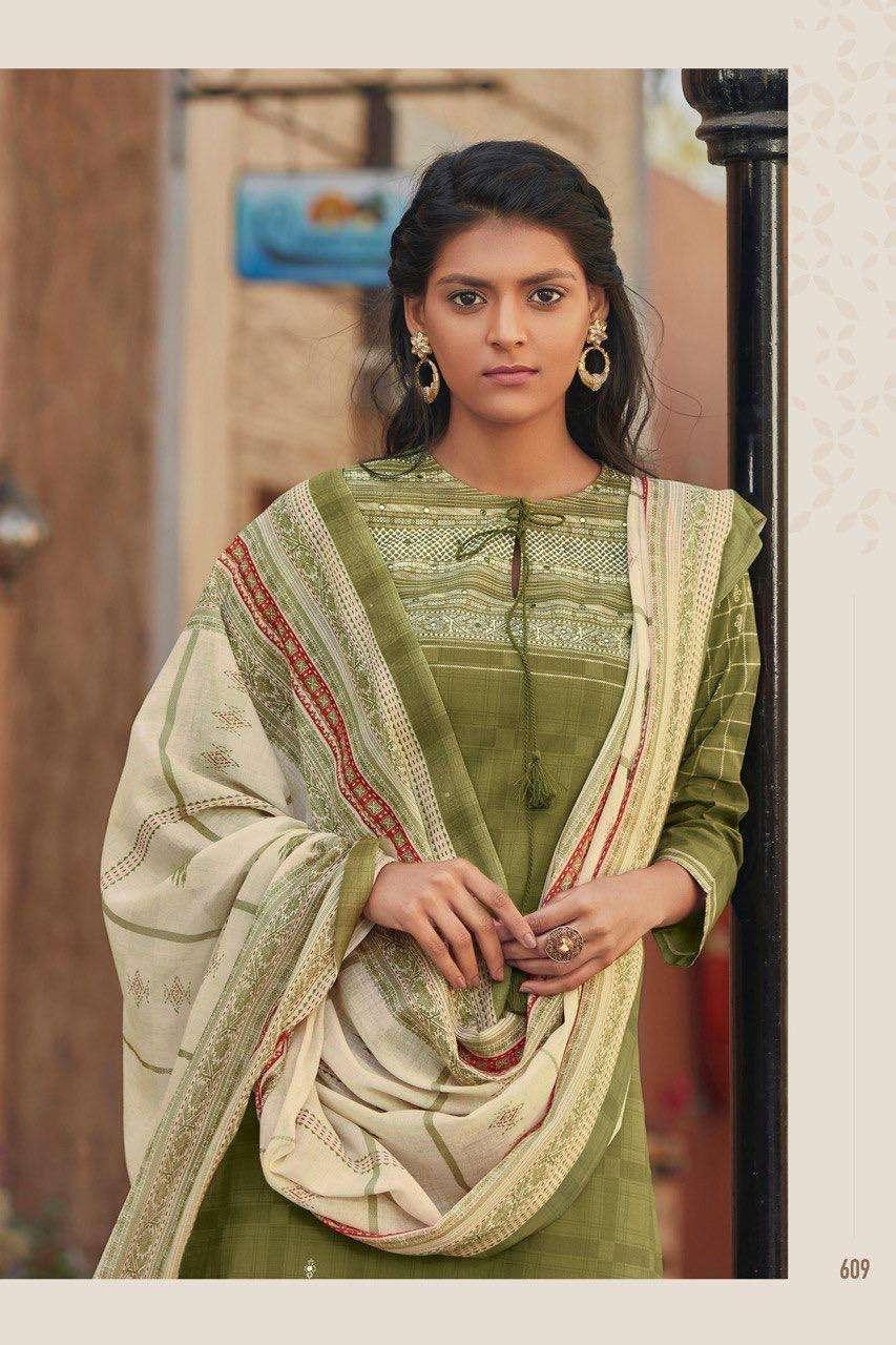 S Nirukht Rukhsar Cambric Cotton Summer Wear Salwar Kameez