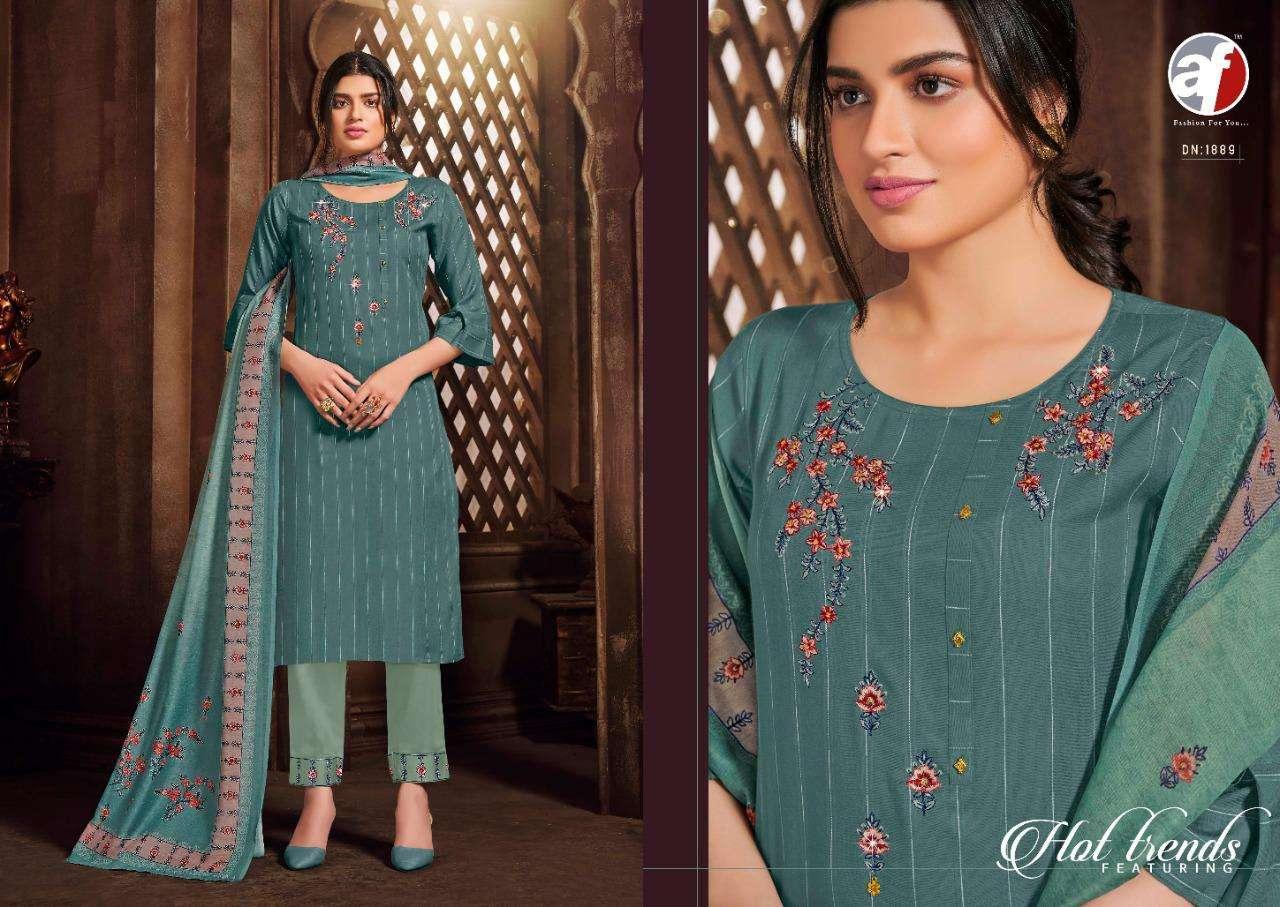 Anju Fab Zara Premium Series 1887-1894 Readymade Suit