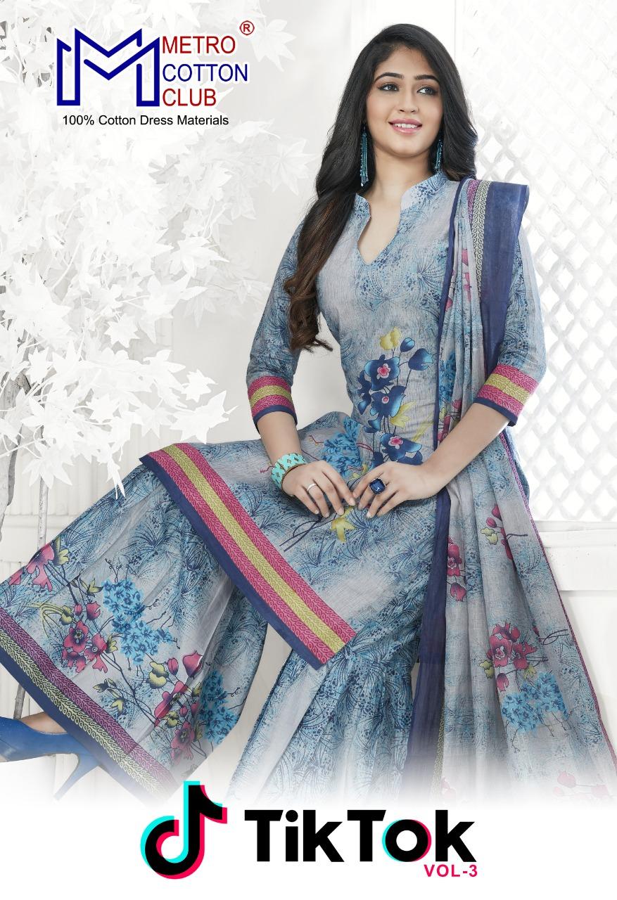 Mishri Creation Tiktok Vol-3 Series 3001-3010-cotton Suit
