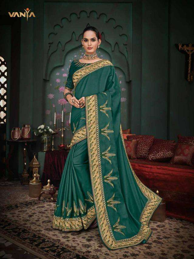 Vanya Vol-21 3101-3118 Series Exclusive Party Wear Sarees