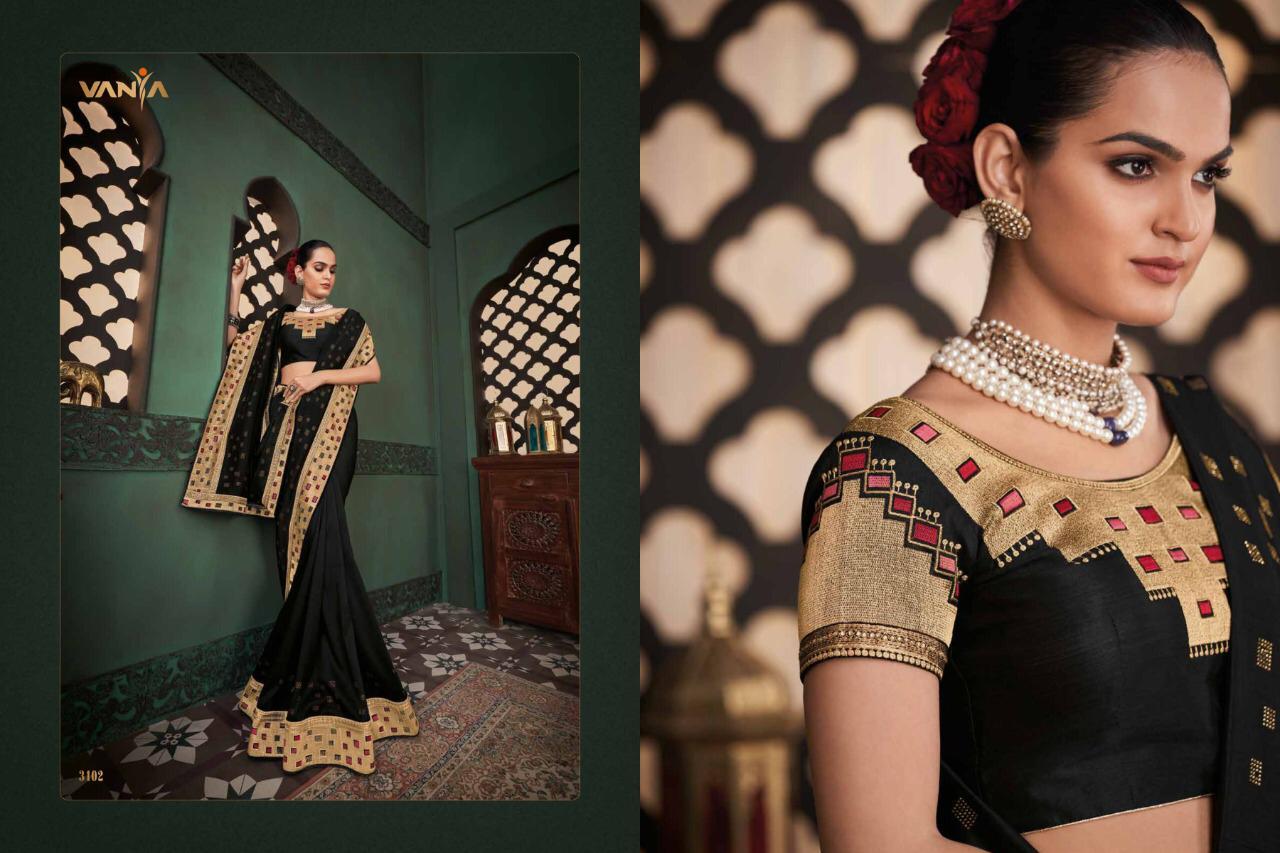 Vanya Series 3101-3118 Designer Fancy Saree