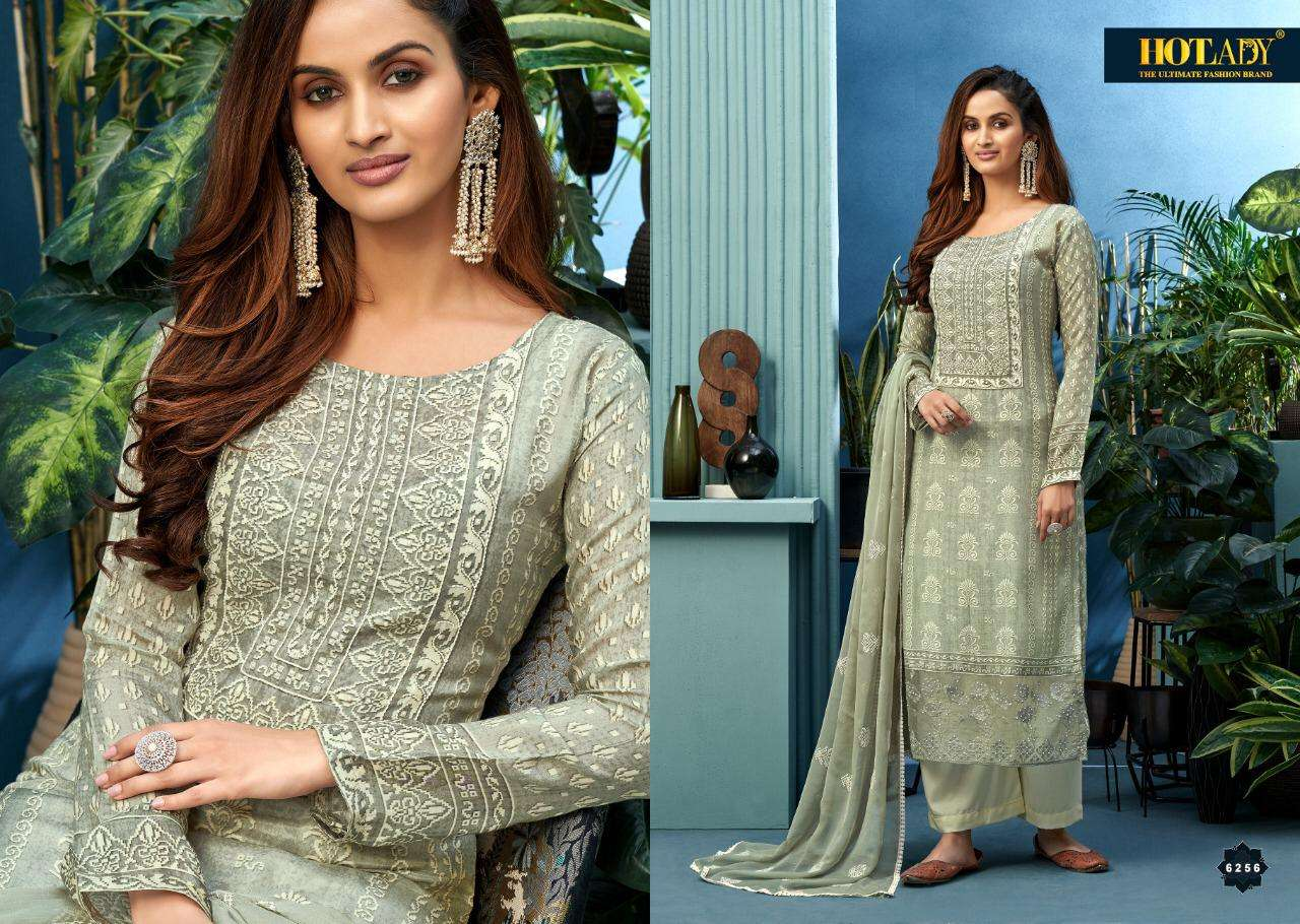 Hotlady Neeshee Series 6261-6266 Pure Cotton Salwar Kameez