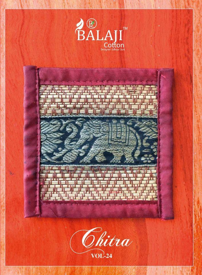 Balaji Cotton Chitra Vol-24 Series 1286-1305 Pure Cotton Suit