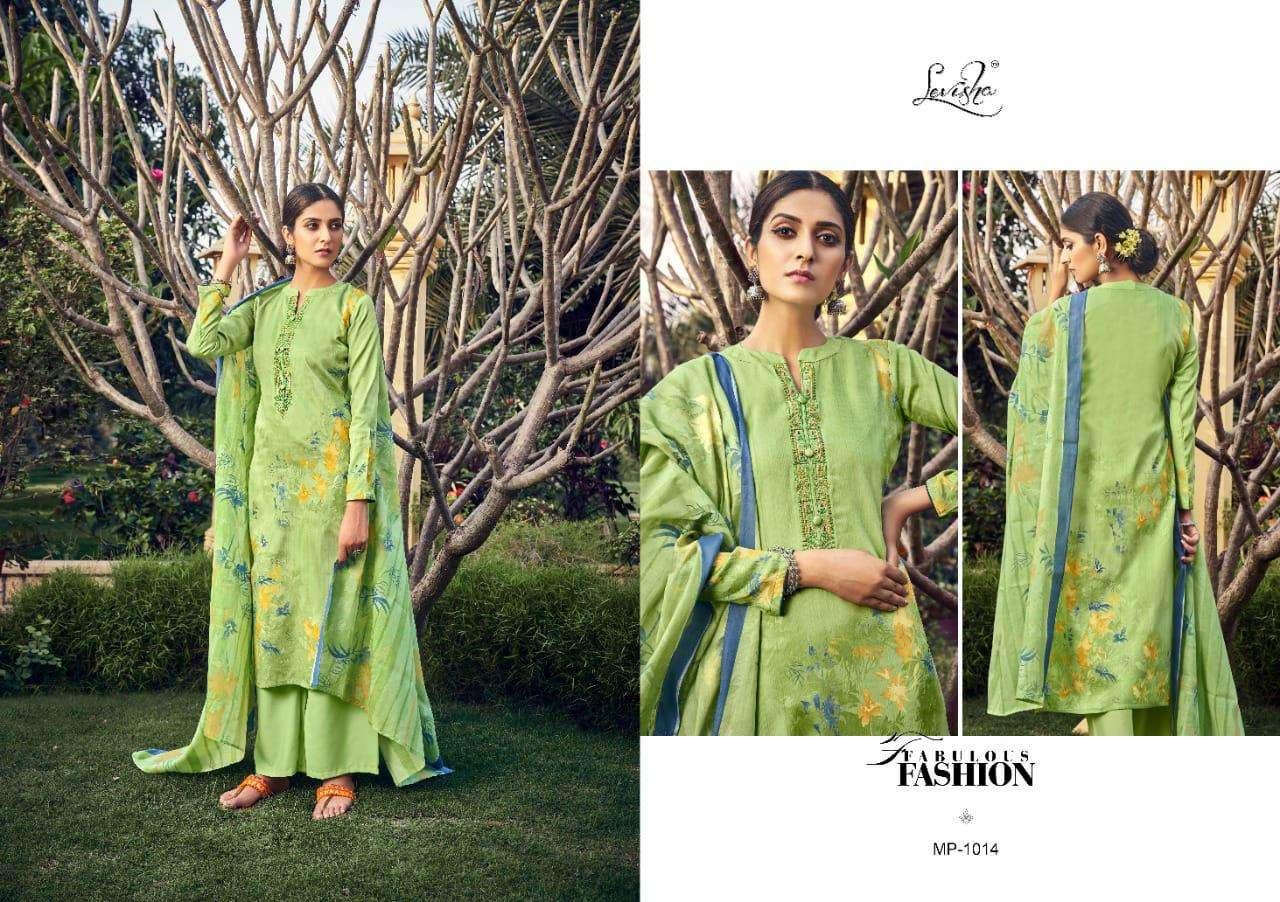 Levisha Panchhi Series 1013-1020 Jam Cotton Salwar Kameez