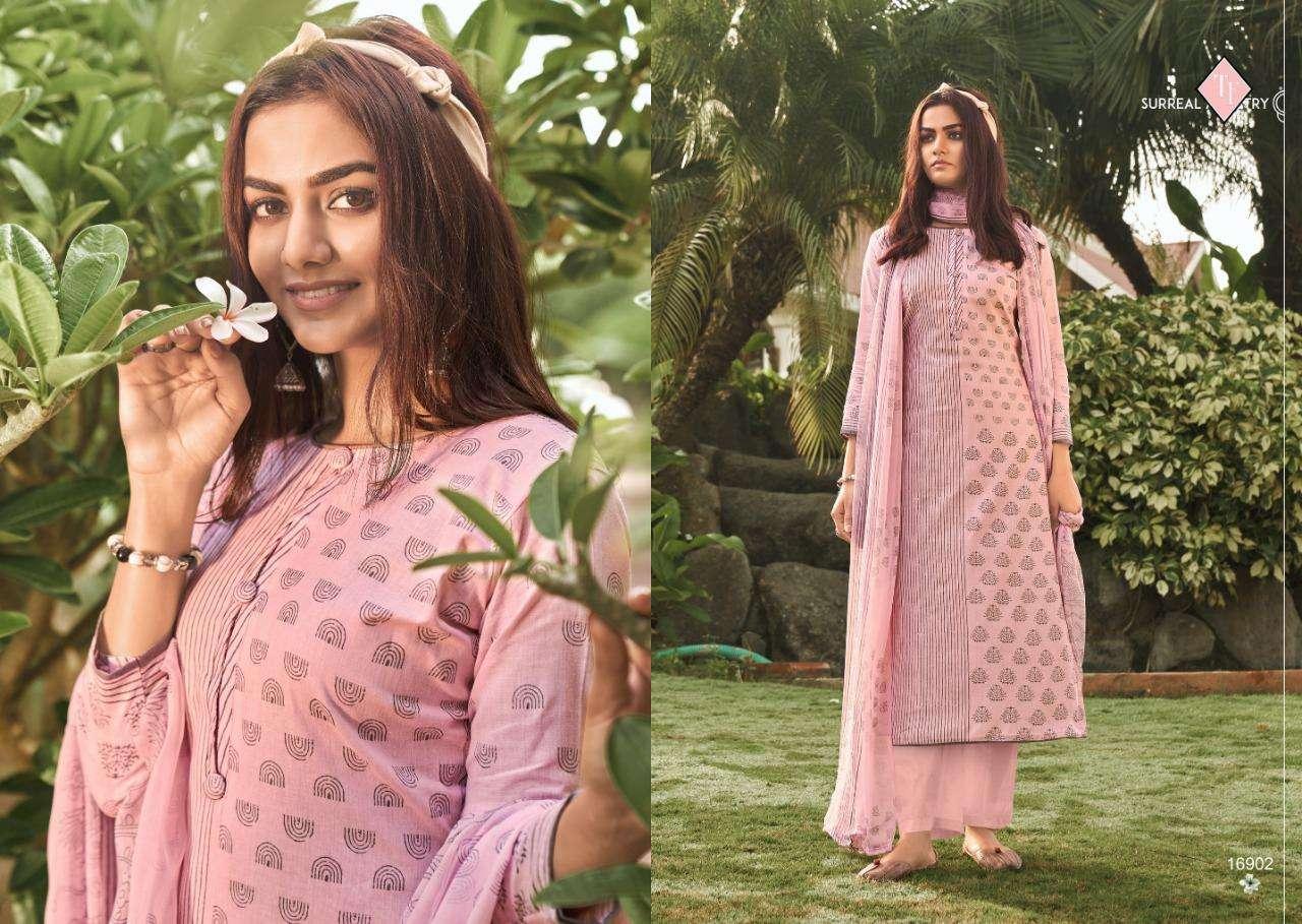 Tanishk Fashion Sanah 2021 Series 16901-16908 Lawn Cambric Suit