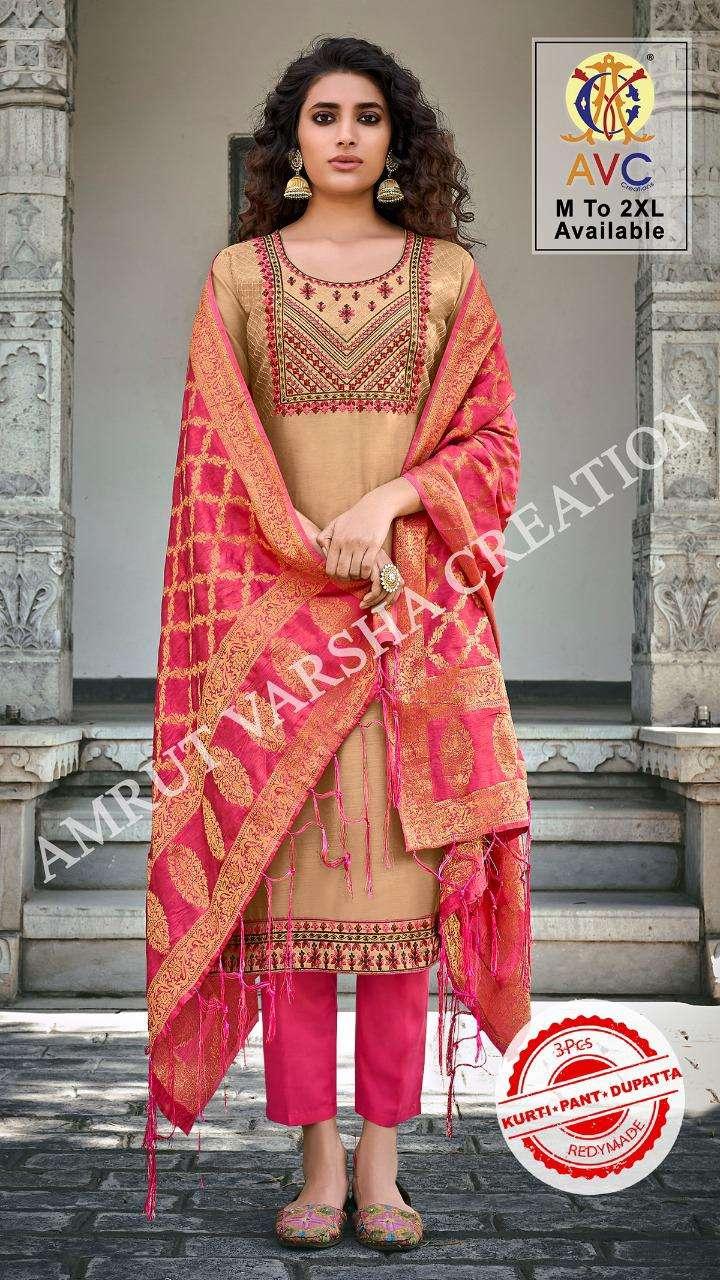 Avc Ayesha Series 1001-1006 Chudidar Readymade Salwar Kameez