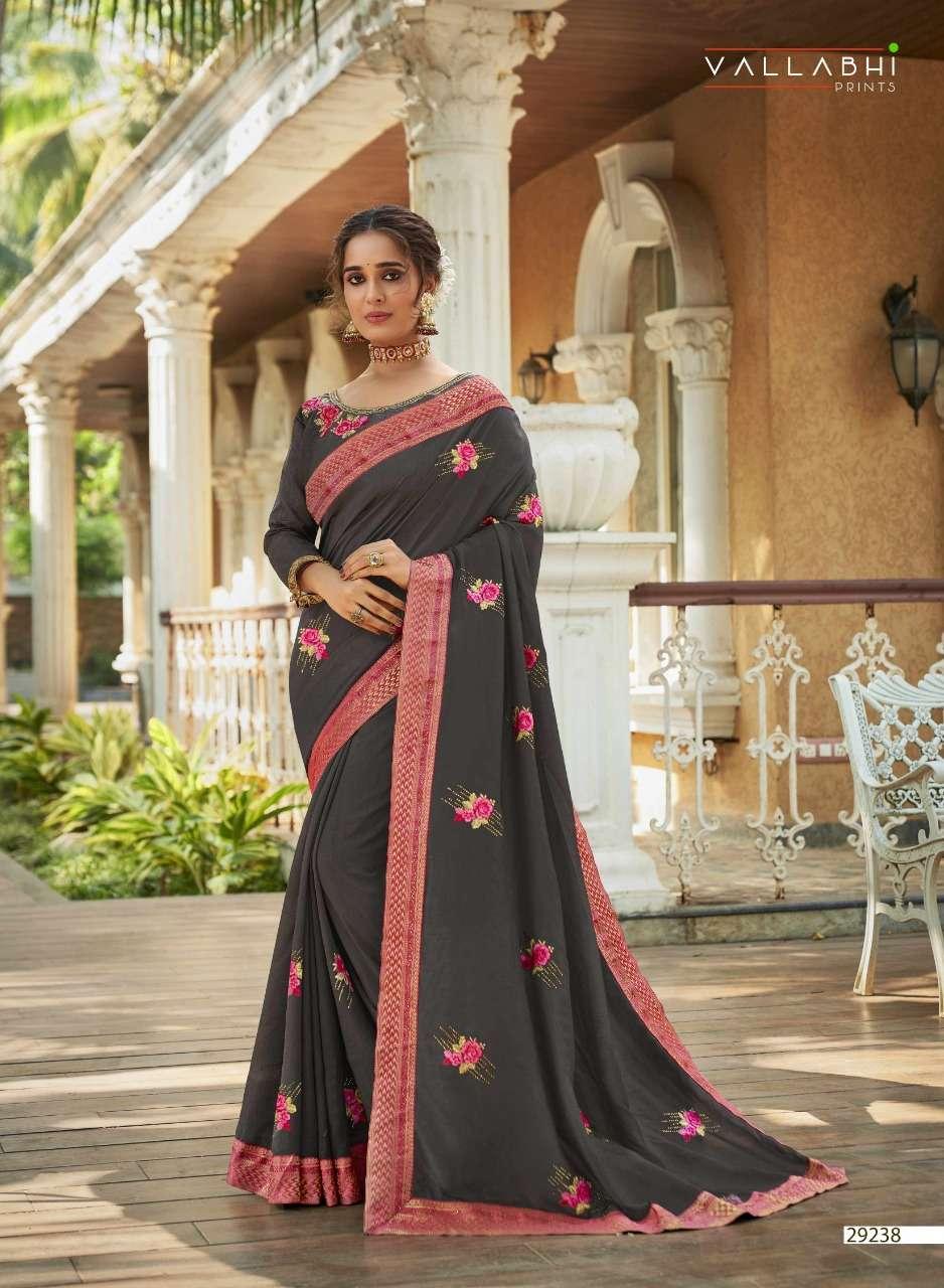 Vallabhi Kalash Series 29231-29238 Vichitra Silk Party Wear Saree