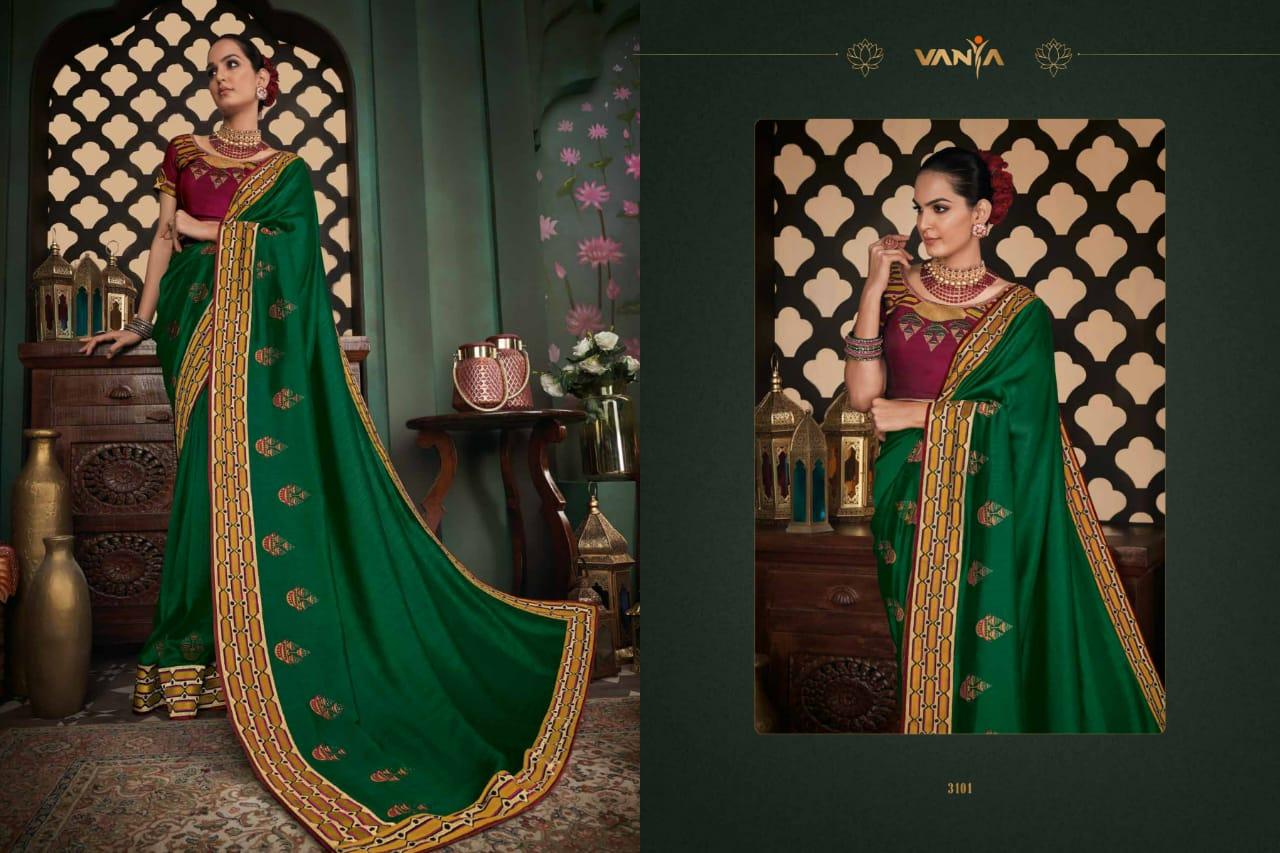 Vanya Vol-21 Designer Silk Saree