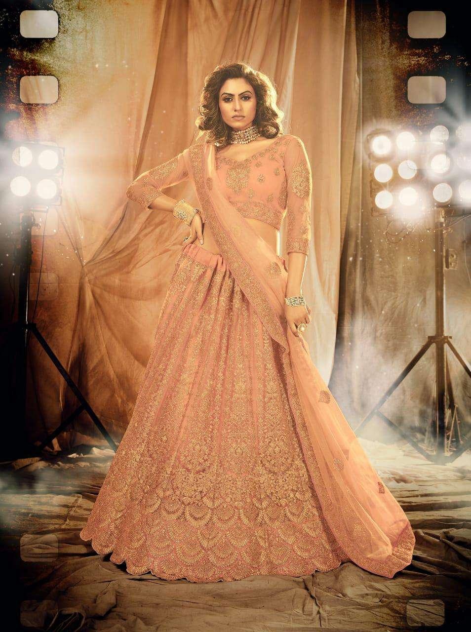 Senhora Alankar 5001-5004 Series Heavy Embroidered Lehenga