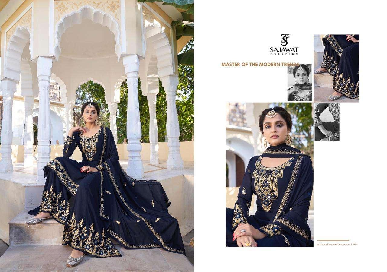 Sajawat Rajani Vol-2 Series 291-295 Readymade Eid Special Suit