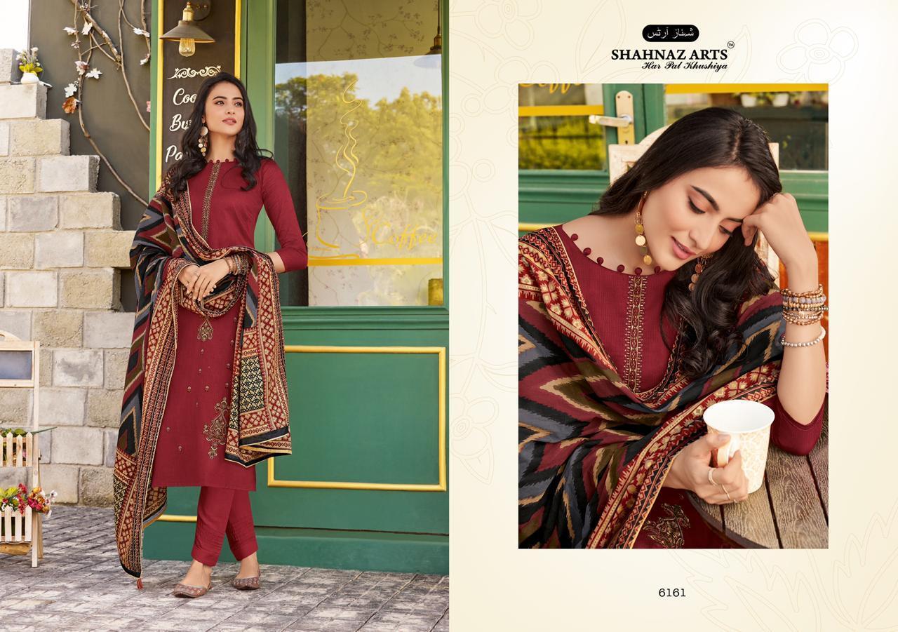 Panihari Vol-6 Designer Jam Cotton Suit