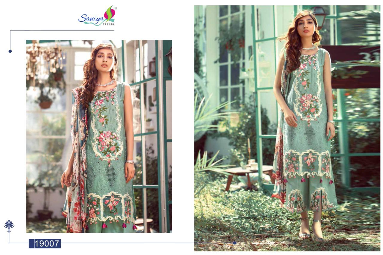 Saniya Trendz Elaf Vol 2 Cambric Cotton With Embroidery Exclusive Pakistani Suit Concept