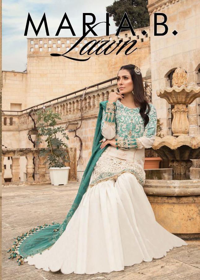 Fairlady Maria B M Prints Vol 2 Jam  Satin Festive Look Salwar Suit With Lawn Dupatta Catalog