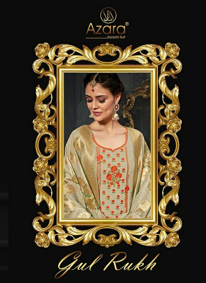 Radhika Fashion Azara Gulrukh Series 1001-1006 Cotton Dress Material