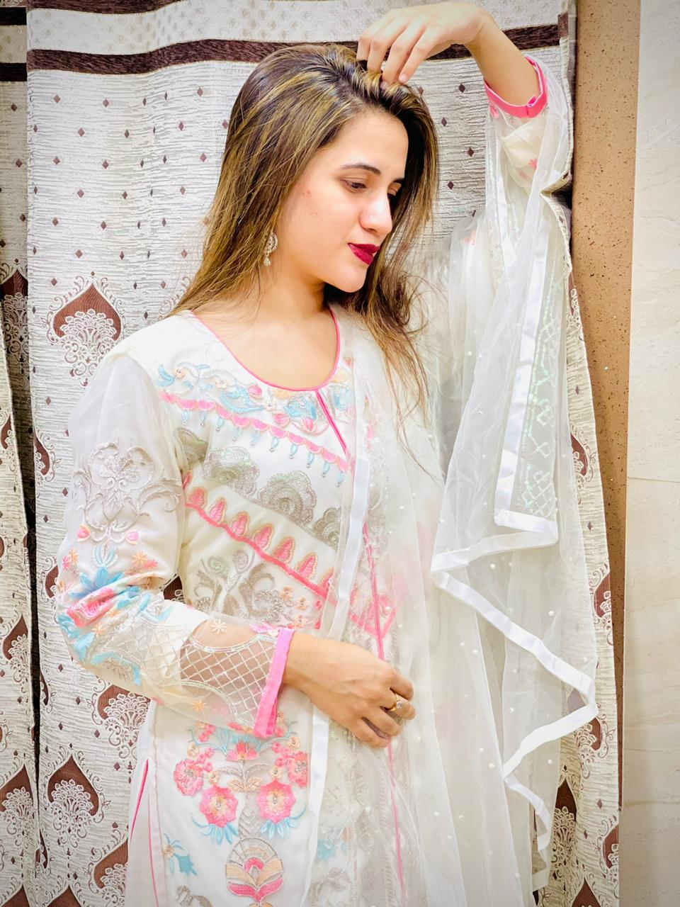 Elaf Gulaal-2 Series 112 Net Authentic Fabric Pakistani Salwar Suit