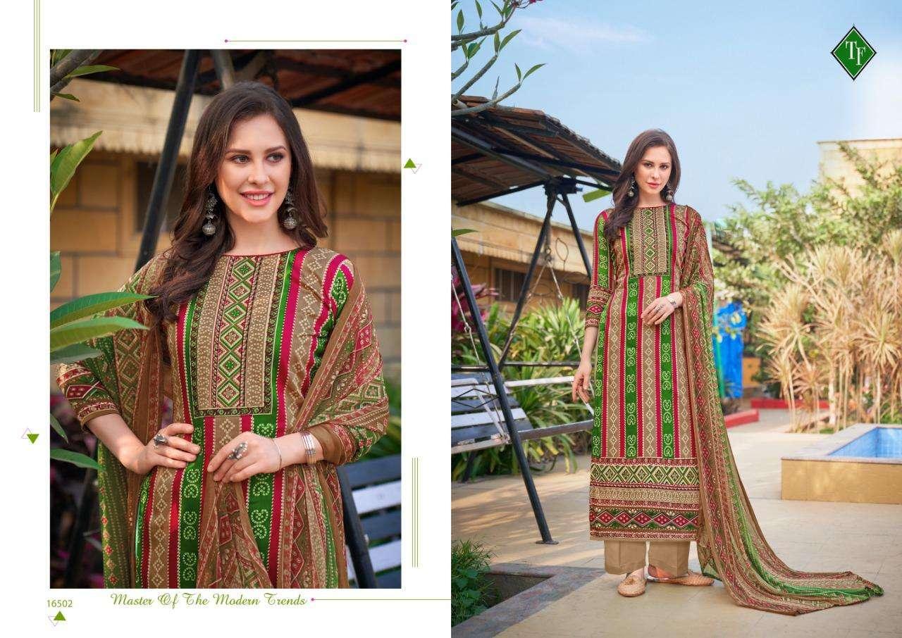 Ahrum By Tanishk Fashion Jam Cotton Bandhani Salwar Kameez