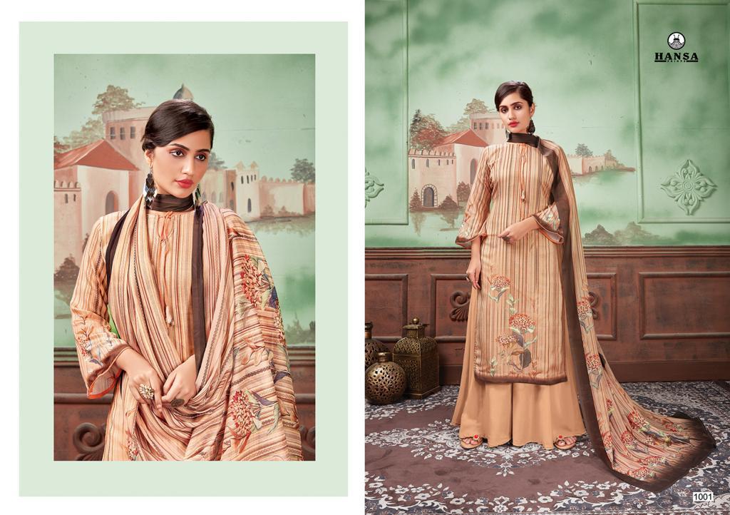 Hansa Designer Cotton Suit