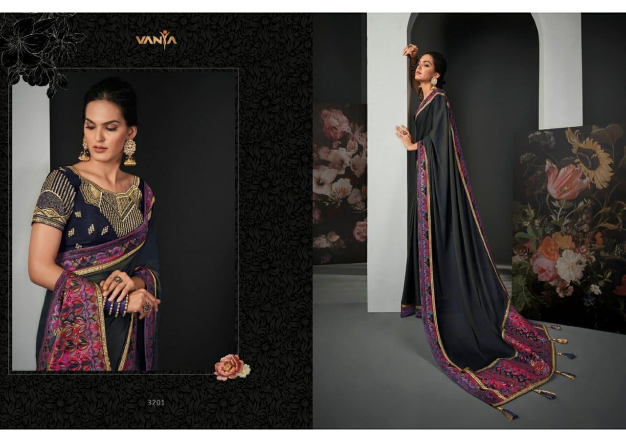Vanya Vol-22 Designer Silk Saree