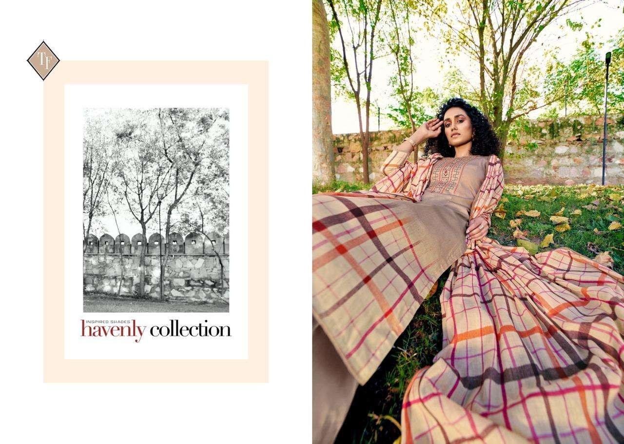 Tanishk Fashion Mehnaaz Series 15901-15908 Jam Cotton Suit