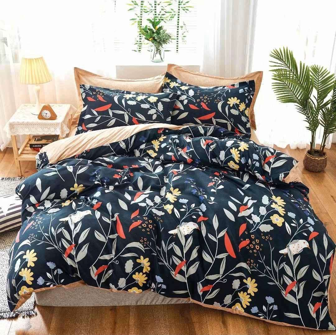 Cadbury King Size Comforter Set With Bedsheets And 2 Pillow Cover Best Wholesale Price