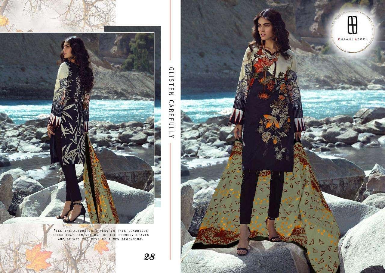 Emaan Adeel Vol-3 Series 21-30 Pure Lawn Pakistani Printed Suit