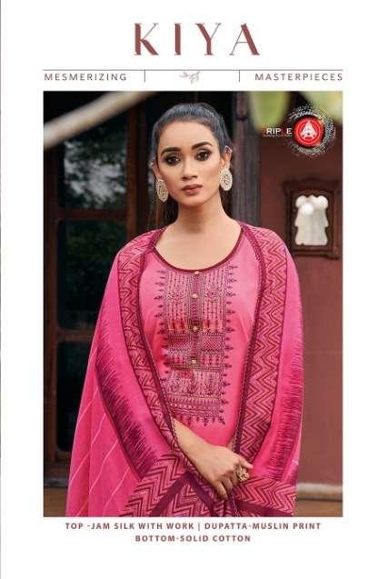 Triple Aaa Kiya Jam Silk Chudidar Ladies Salwar Kameez
