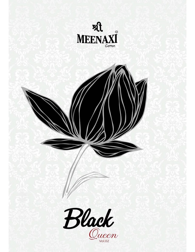 Meenaxi Black Queen Vol-2 Series 2001-2010 Pure Cotton Suit