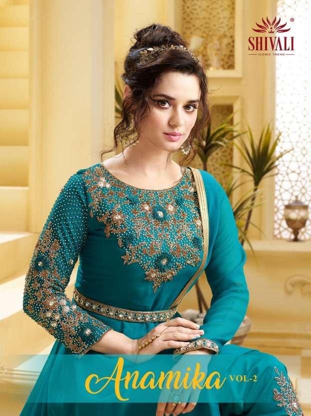 Shivali Anamika Vol-2 Series 1001-1006 Georgette Wedding Wear Suit