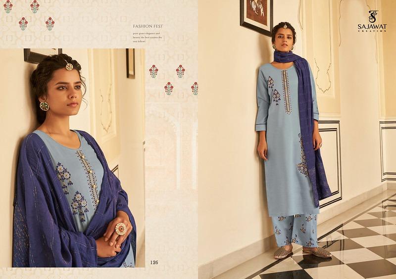 Sajawat Creation Roohi Vol-1 Designer Heavy Work Readymade Suit