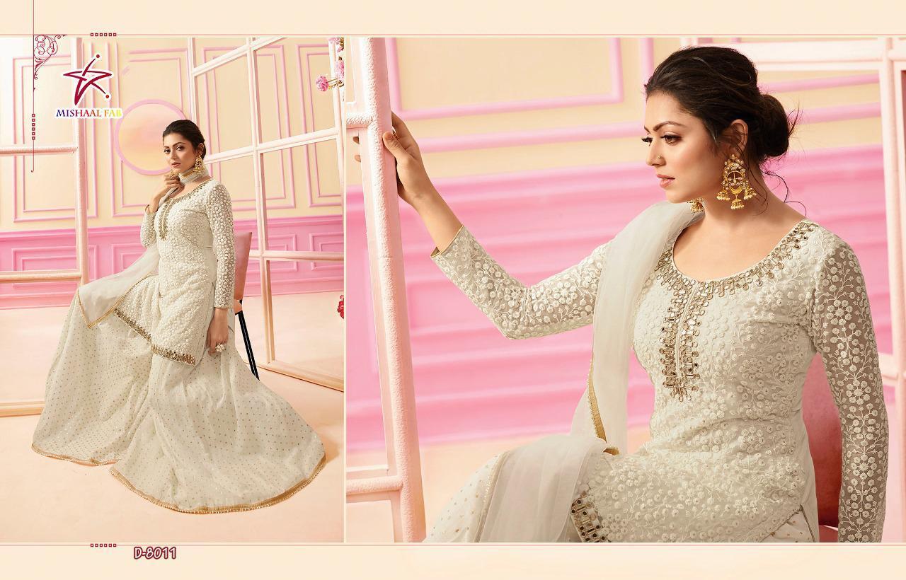 Mishaal Fab 8011 Designer Heavy Net Suit