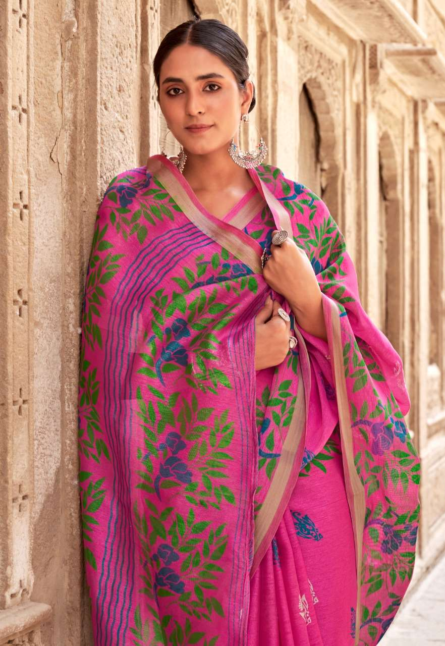 Vinamra Panny Checks Cotton Vol 1 Printed Saris Wholesaler
