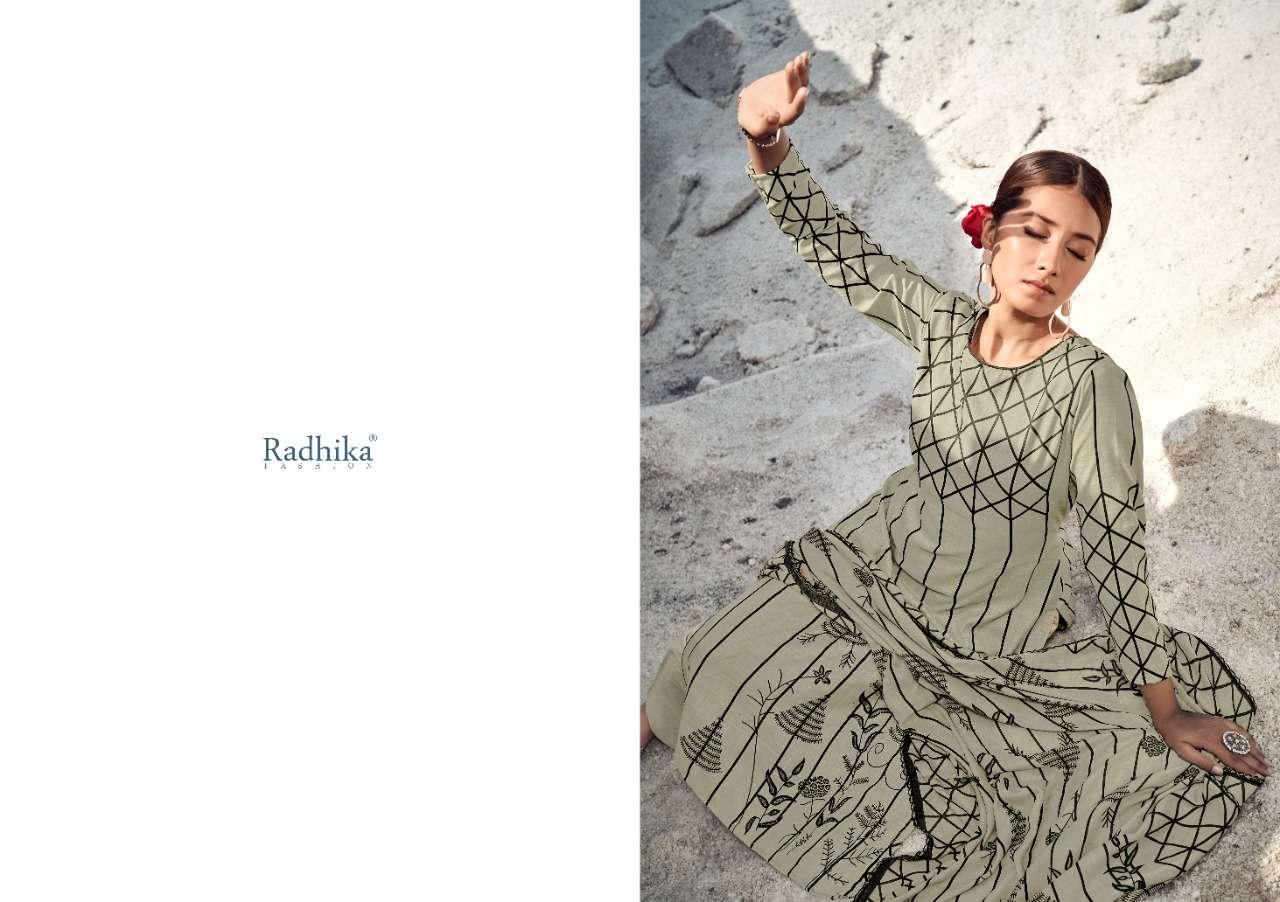 Radhika Kenza Vol 2 Cotton Slub Formal Wear Dresses