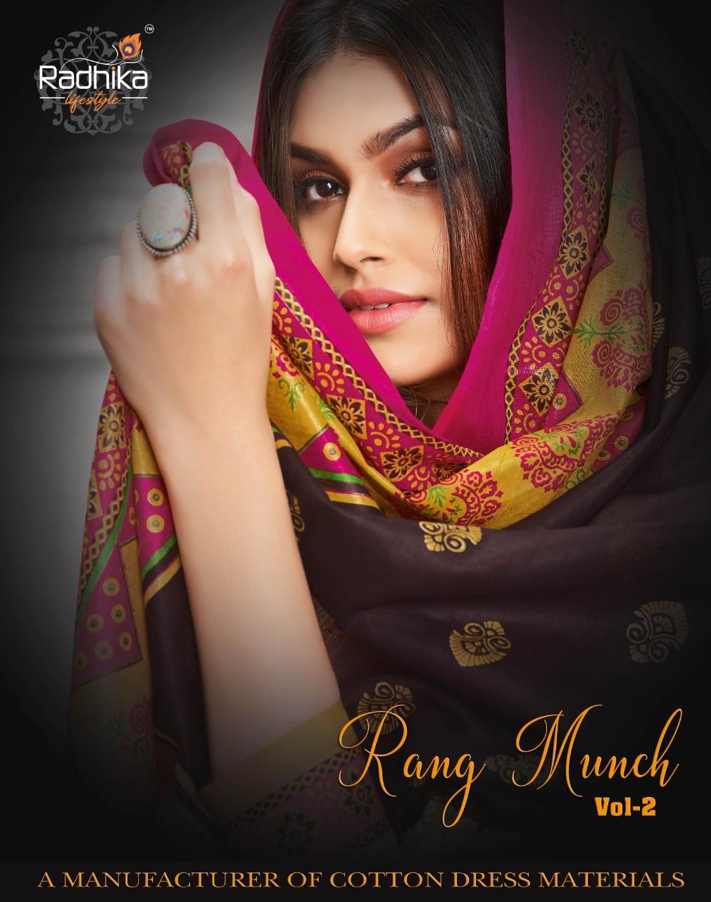 Radhika Rang Munch Vol-2 Series 2001-2012 Pure Cotton Suit