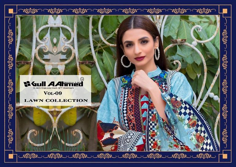Gulahmed Vol-9 Series 81-90 Pure Lawn Cotton Pakistani Suit