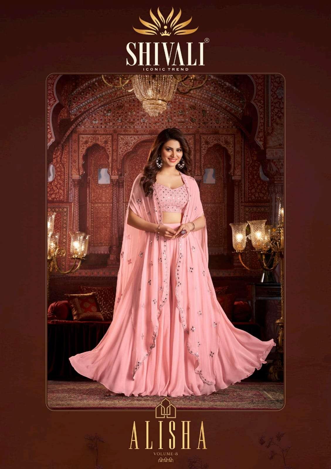 Shivali Alisha Vol 8 Designer 3 Piece Party Wear Collection