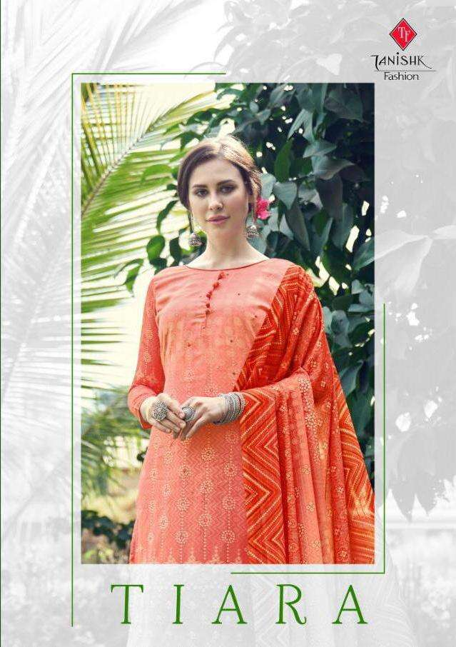 Tanishk Tiara Series 16601-16608 Jam Digital Print Mirror Work Suits