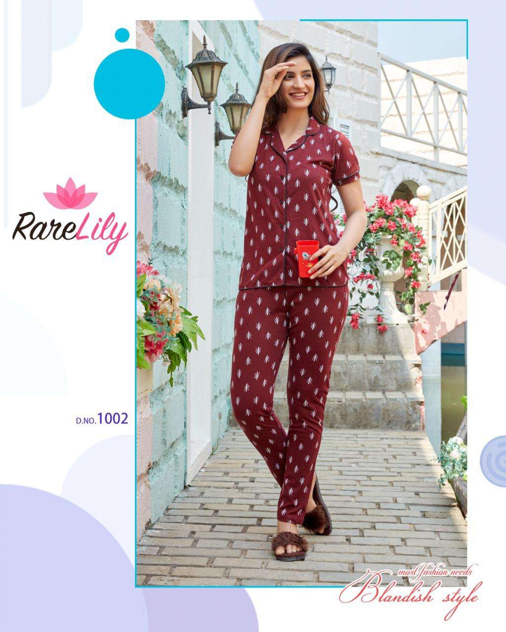 Rare Lily Zil Mil Vol 4 Cotton Night Suits Collection